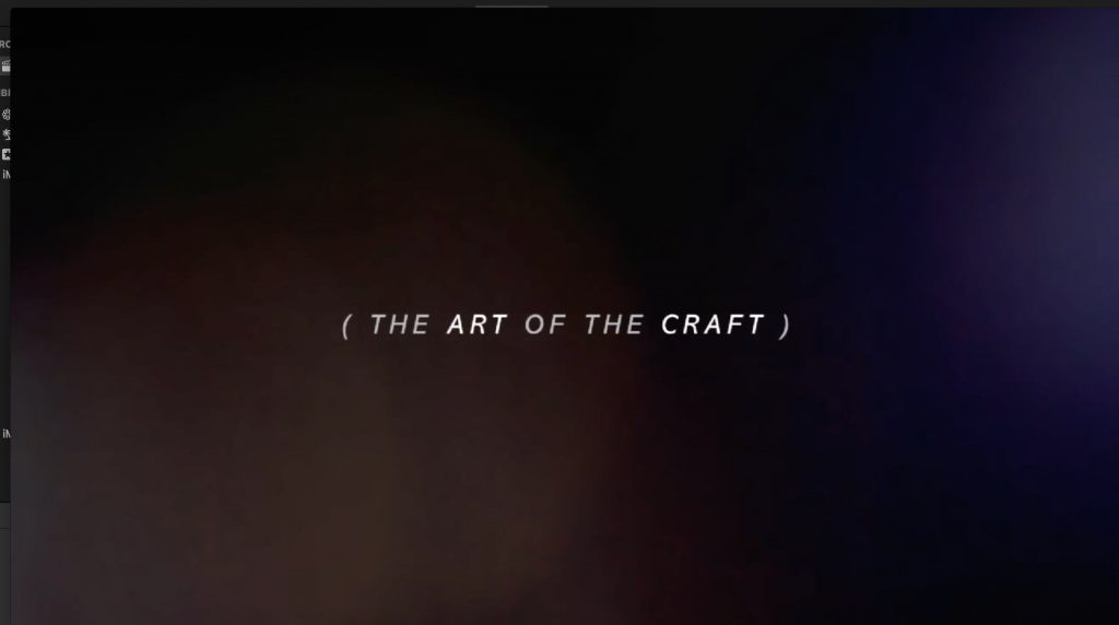 Art of the Craft